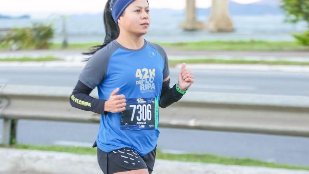 Agora sim sou uma maratonista! -  Adriana Rabelo