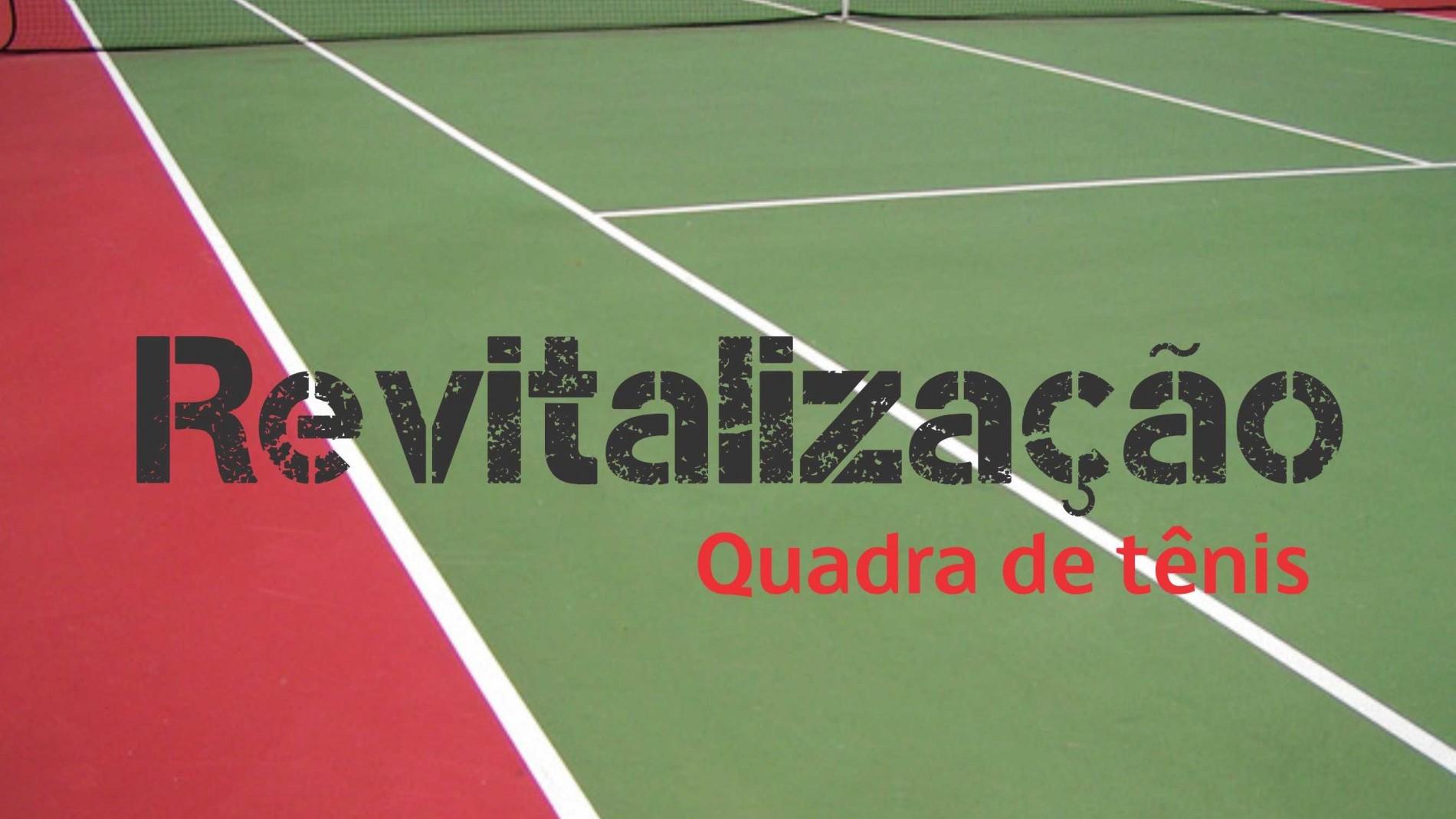 Revitalização da Quadra de Tênis