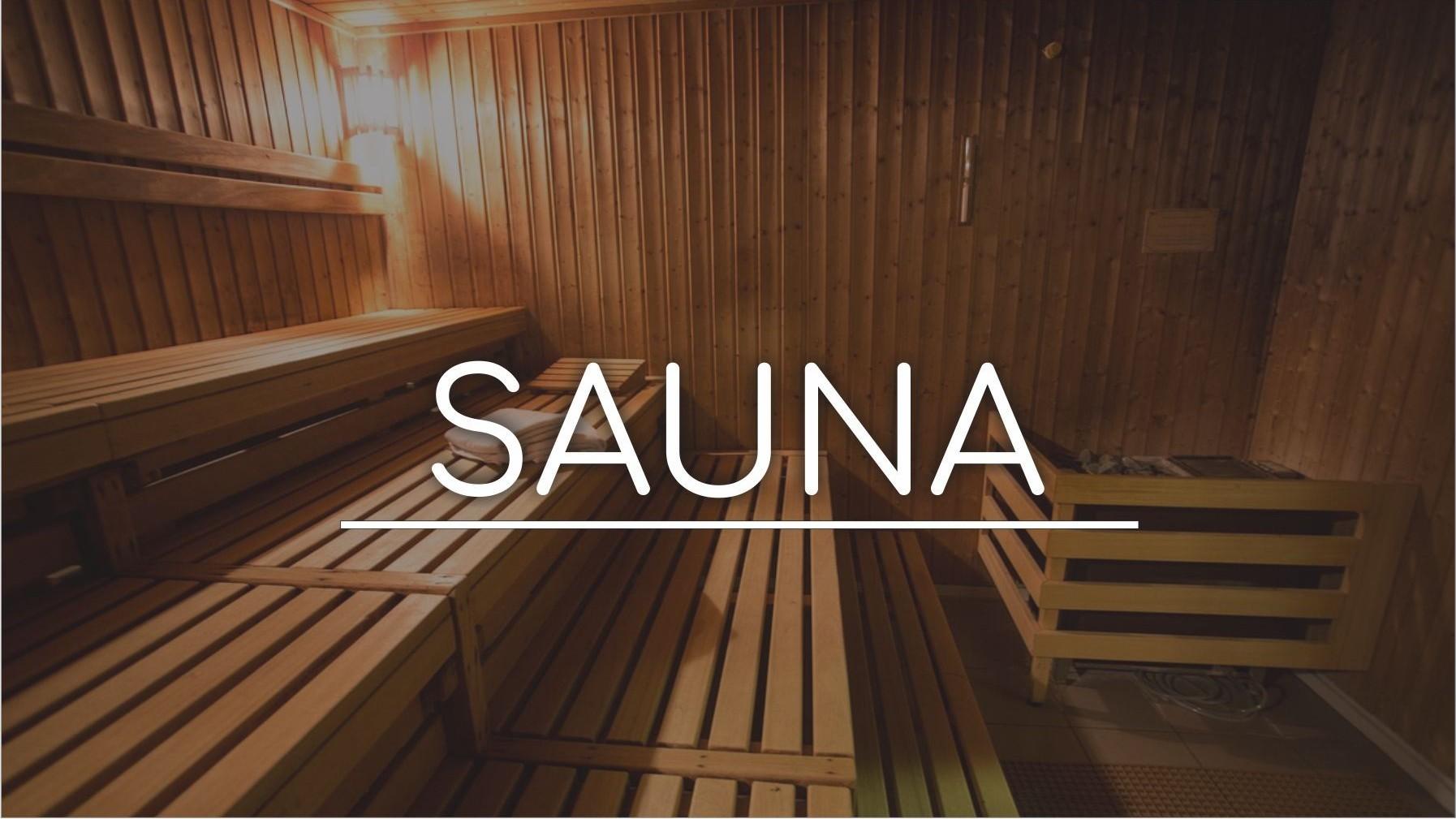 Horário de funcionamento Sauna